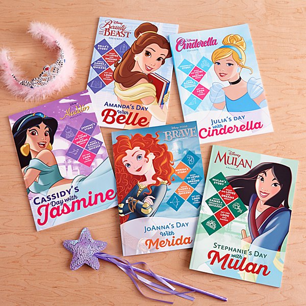 Disney's A Day With A Princess Books