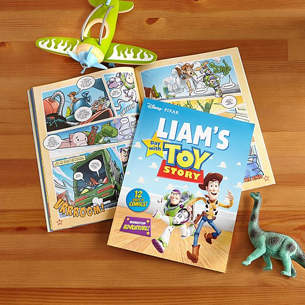Disney's A Day With Toy Story Book