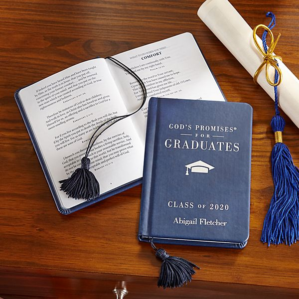 God's Promises Graduation Scripture Book