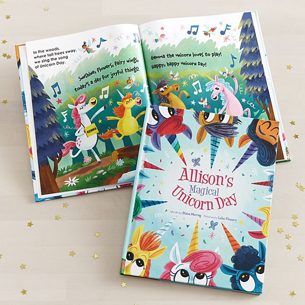 Magical Unicorn Day Book