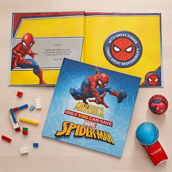 Marvel Only You Can Save Spider-Man Book