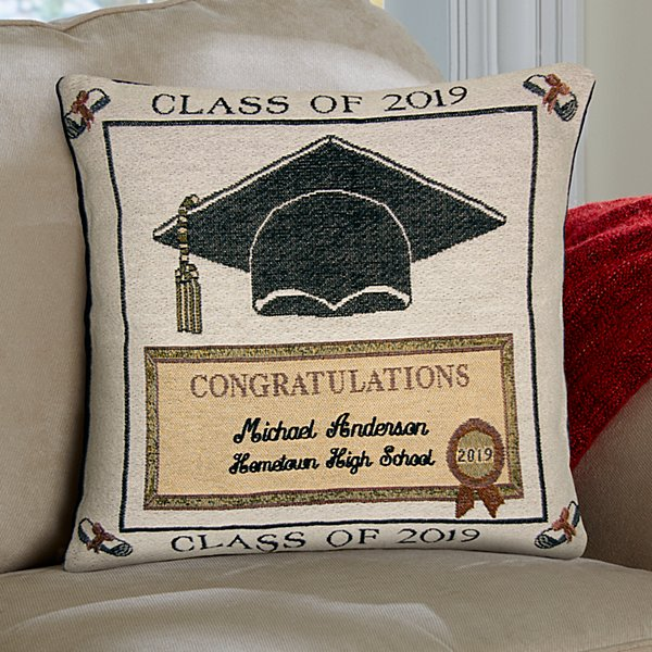 Graduation Throw Pillow