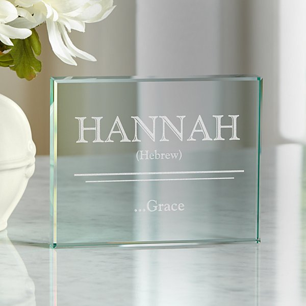 Name Meaning Glass Block