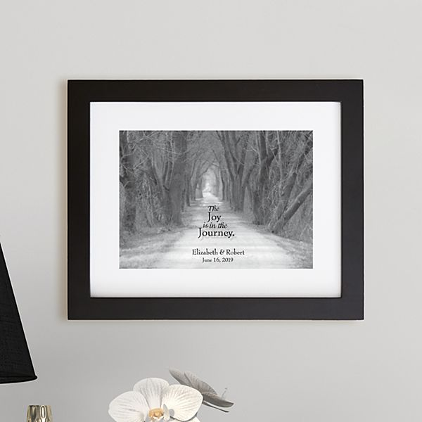 The Joy of the Journey Framed Prints