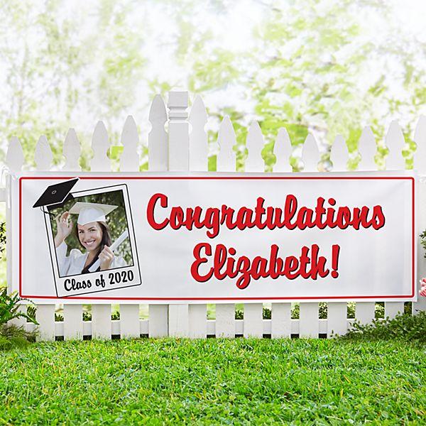 Graduation Signature Photo Banner