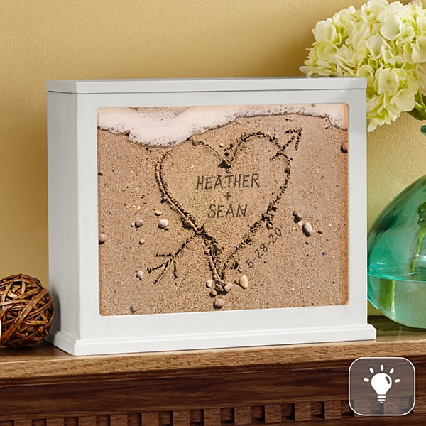 Heart in Sand Accent Light