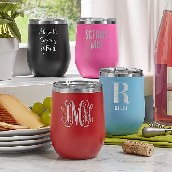 Wine Time! Insulated Tumblers