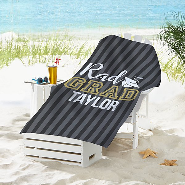 Rad Grad Beach Towel