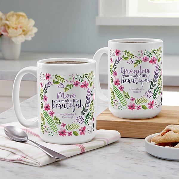 You Make Life Beautiful Mug