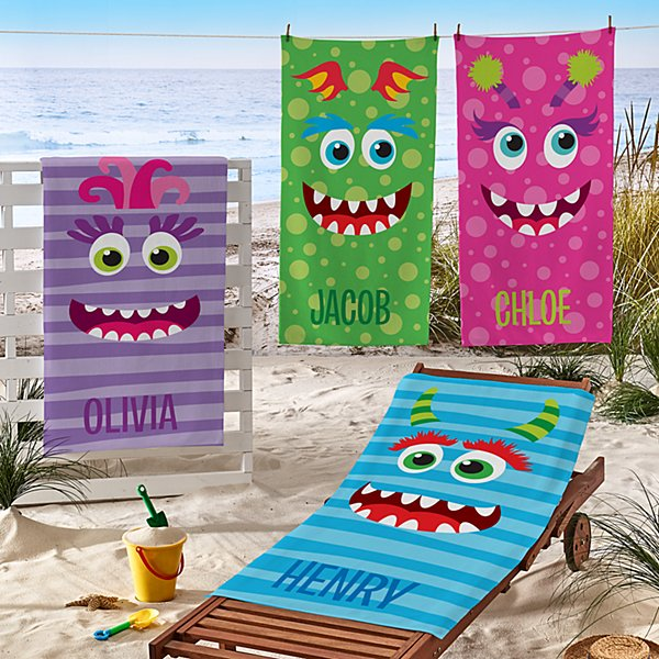 Beach Monster Beach Towels