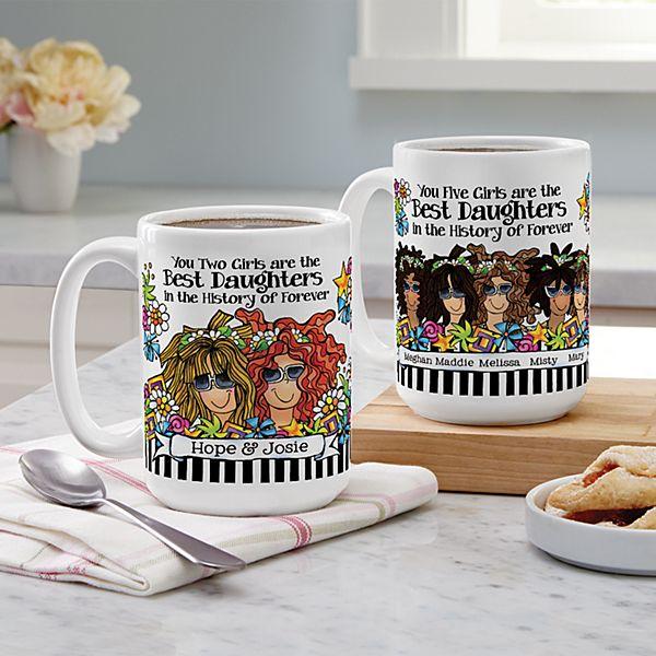 Best Daughter Ever Mug by Suzy Toronto