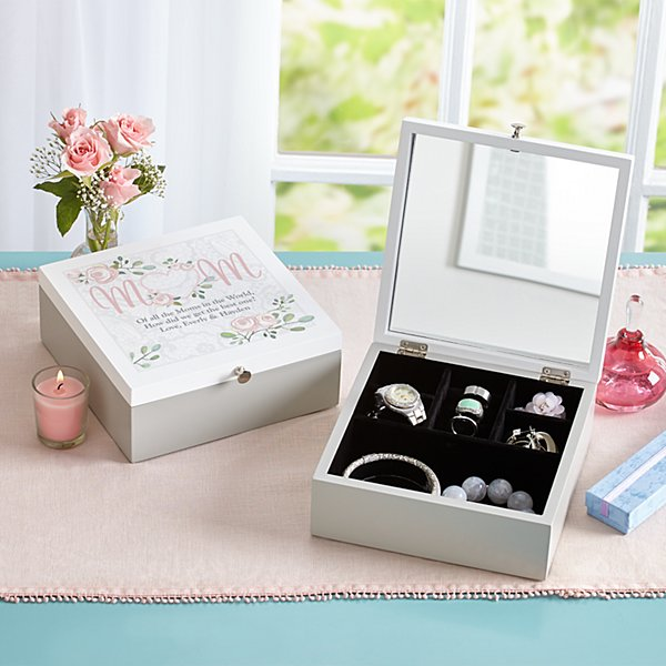 Cherish Mom Jewelry Box