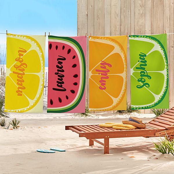 Fun Fruit Beach Towels