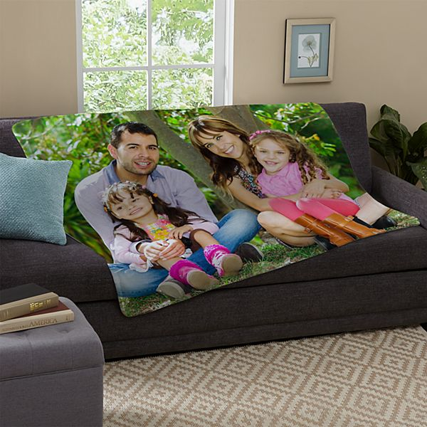 My Favorite People Plush Photo Blanket