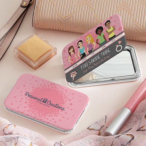 Besties Purse Mirror