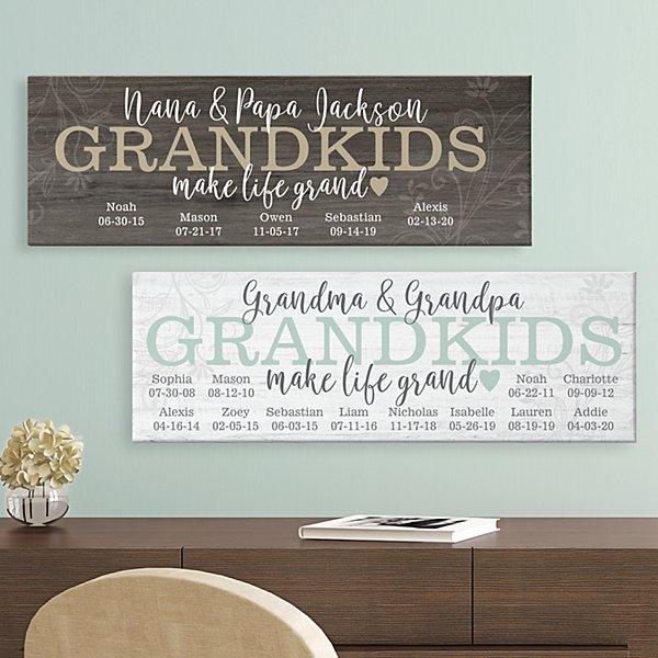 Make Life Grand Canvas