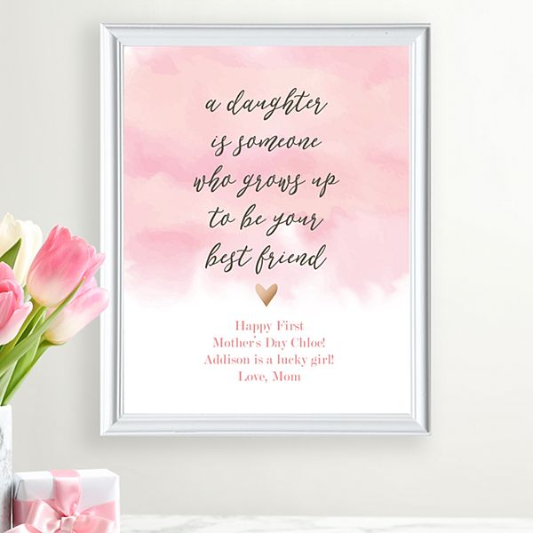 My Daughter, My Best Friend Framed Print
