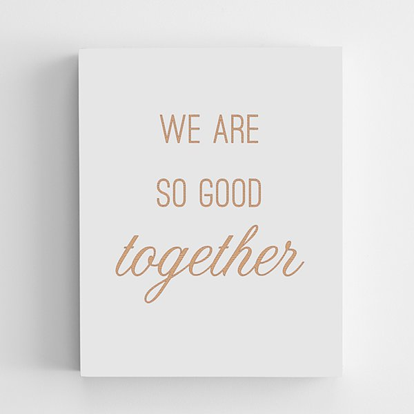 Good Together Wooden Wall Art
