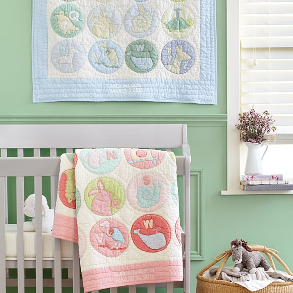 ABC Animal Keepsake Quilt