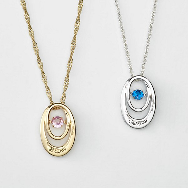 Forever Loved Birthstone Necklace