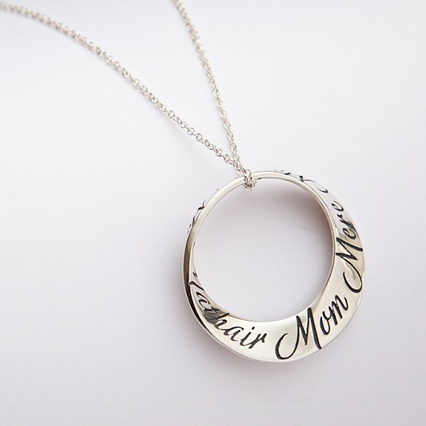 Languages of Mom Necklace