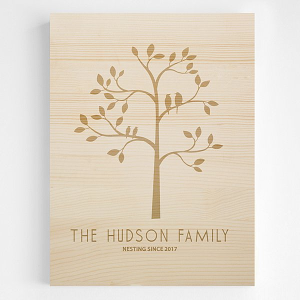 Family Tree Wooden Wall Art