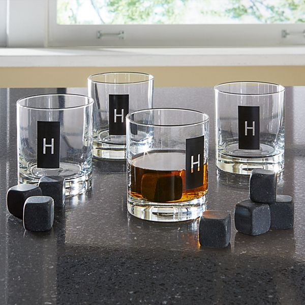 Double Old Fashioned Set + Whiskey Stones