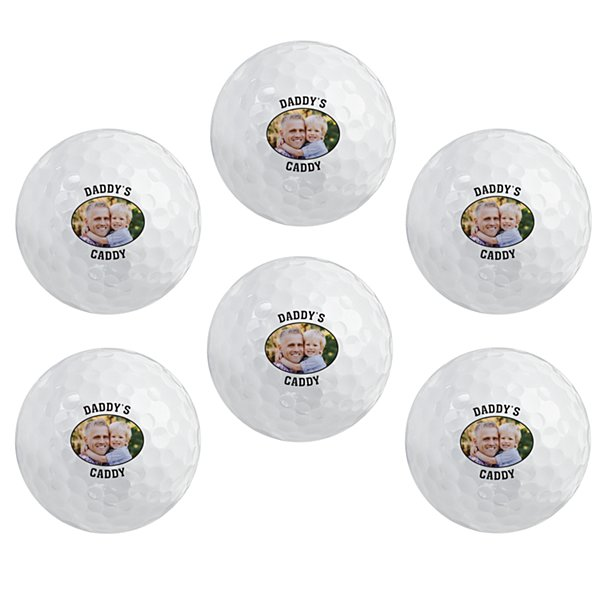 Photo + Message Golf Balls - Set of 6
