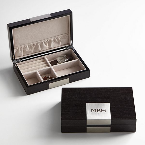 Personalized Wooden Valet Organizer
