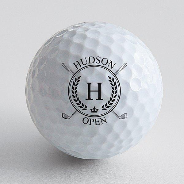Golf Open Golf Balls - Set of 12