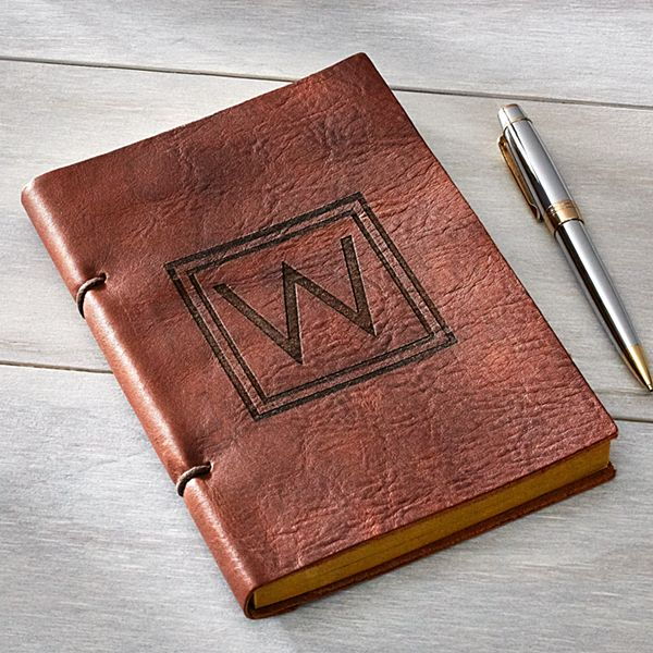 Leather Engraved Journal