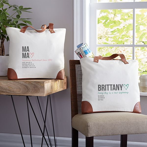 Typography Tote