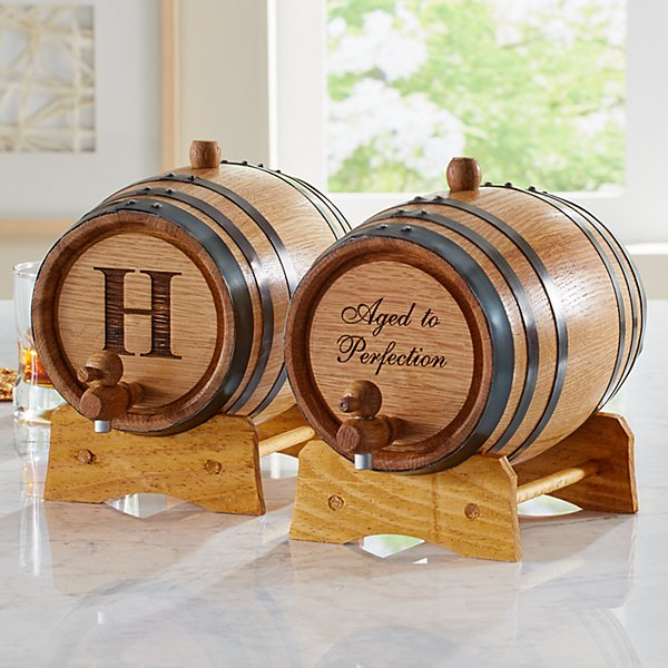 Oak Liquor Barrel