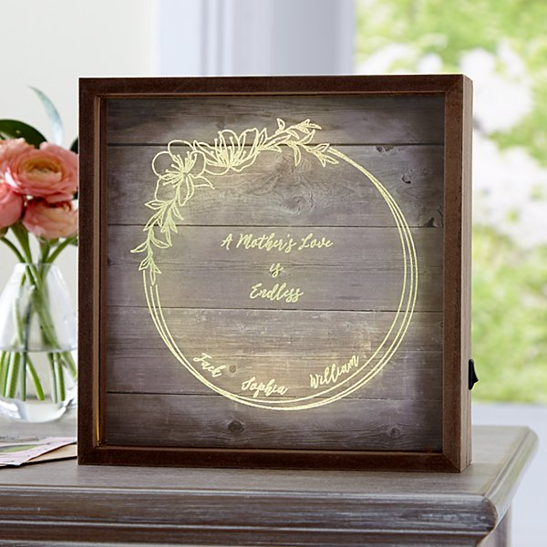 A Mother's Love Light Box