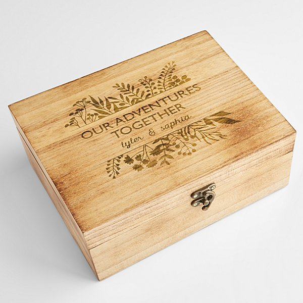Our Adventures Together Keepsake Box