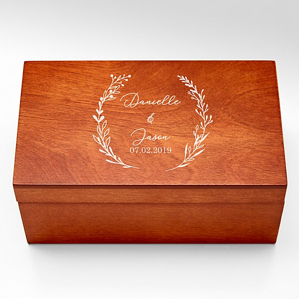 For the Couple Ring Holder Keepsake Box