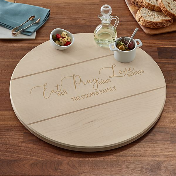 Eat. Pray. Love Lazy Susan