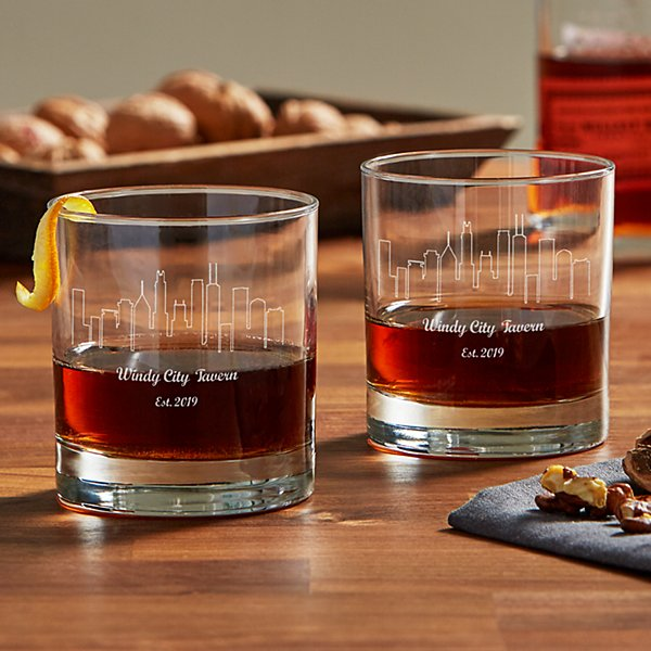 Our Home Skyline Whiskey Glasses