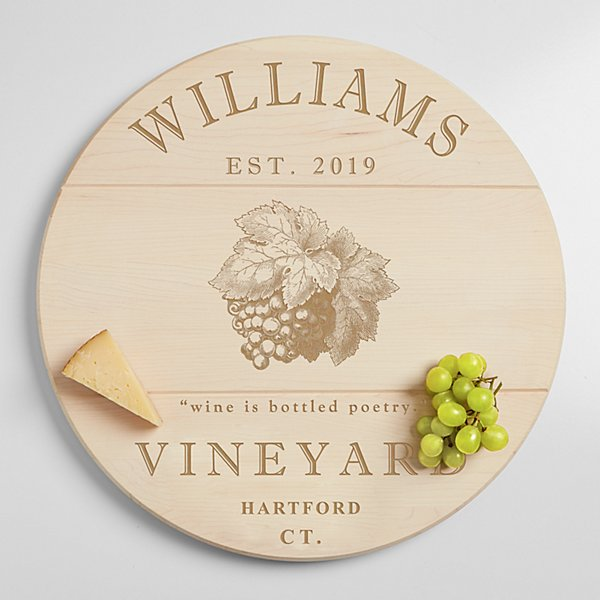 Vineyard Lazy Susan