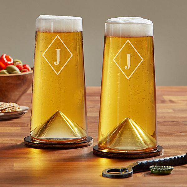 Italian Pint Glass Set