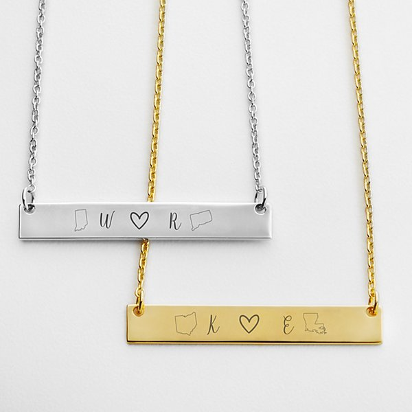 Close at Heart Never Apart Necklace Set