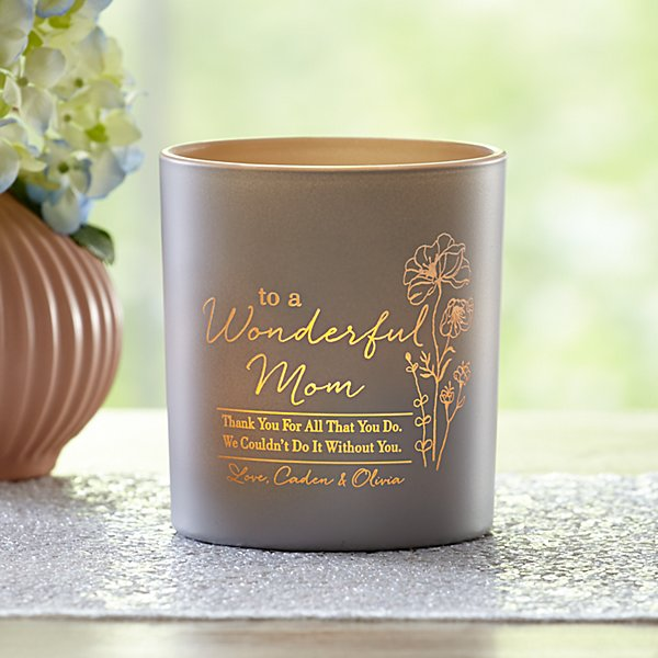 To a Wonderful You LED Candle