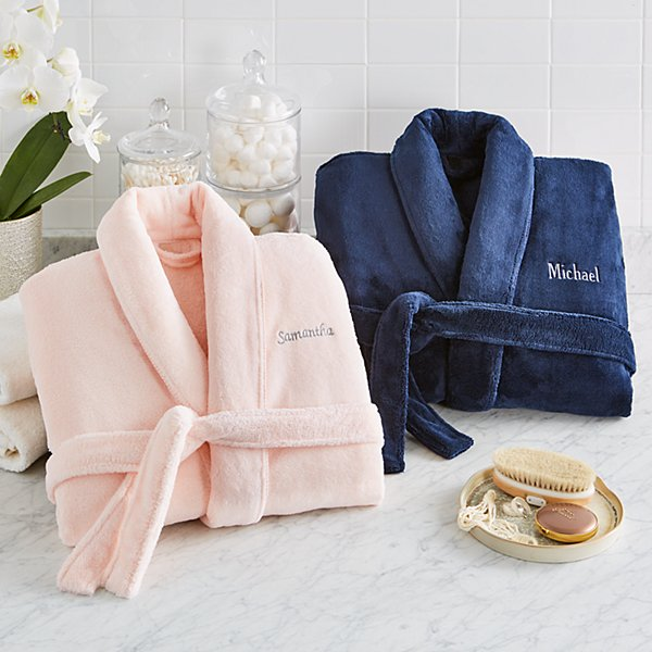 Couple's Five-Star Plush Robe Set