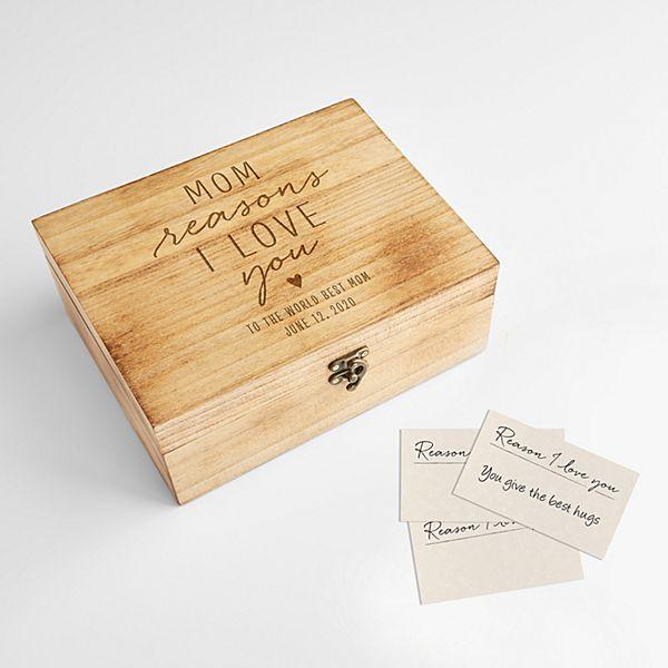 Reasons I Love You Memento Box