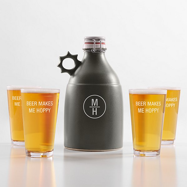 Stoneware Growler 5 Piece Set