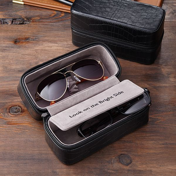 Hidden Message Sunglass Travel Case