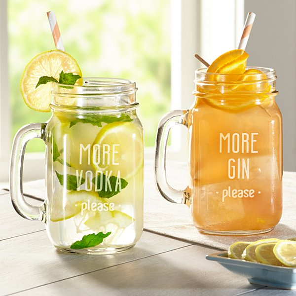 More Please Mason Jar