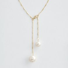 Mabel Chong Buttermint Pearl Necklace