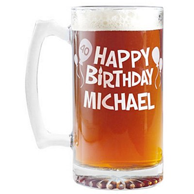 Birthday Oversized Beer Mug