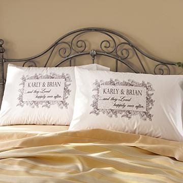And They Loved Happily Ever After Pillowcases - Set of 2
